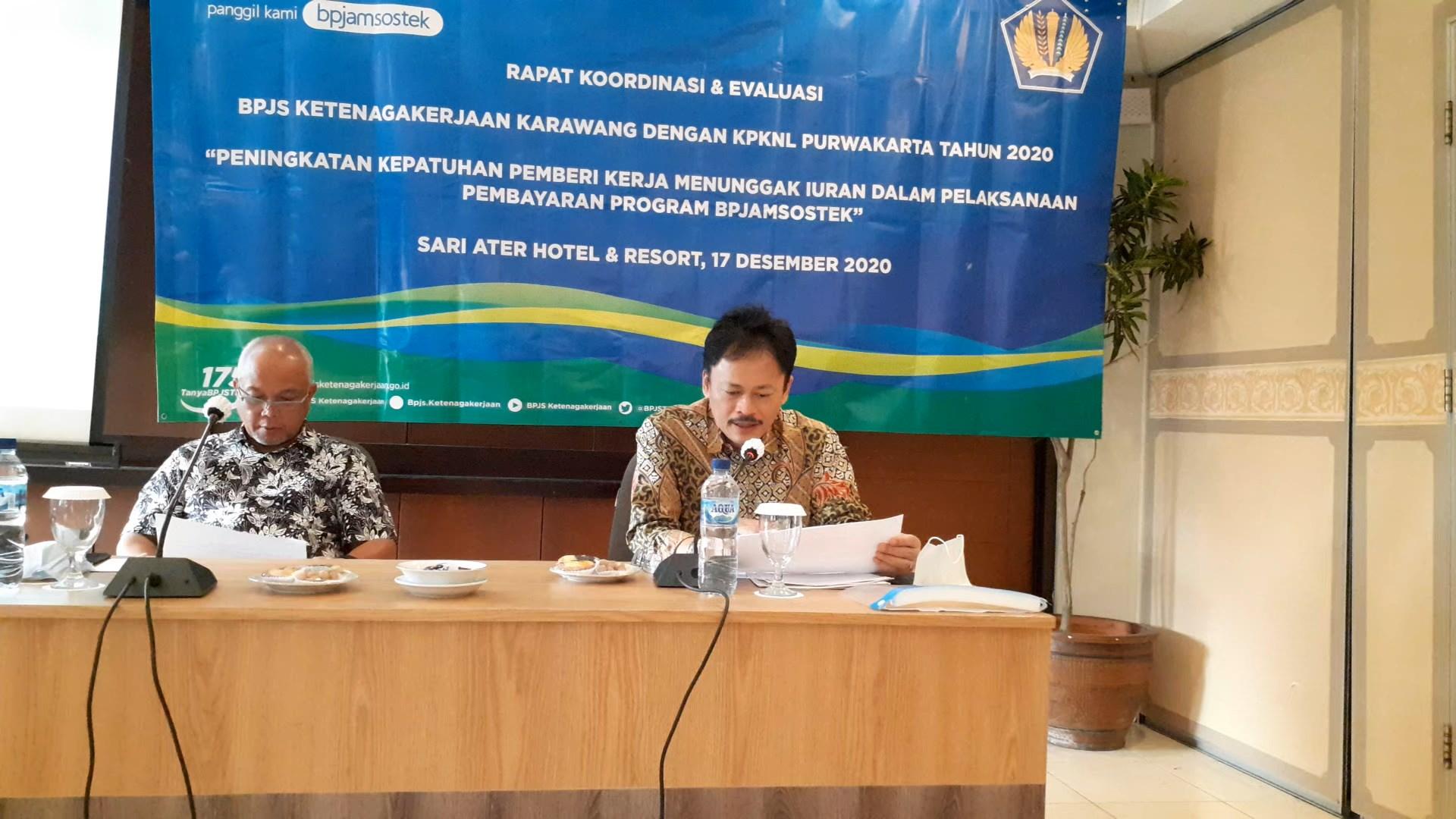 Sinergi KPKNL Purwakarta dan BPJamsostek Karawang