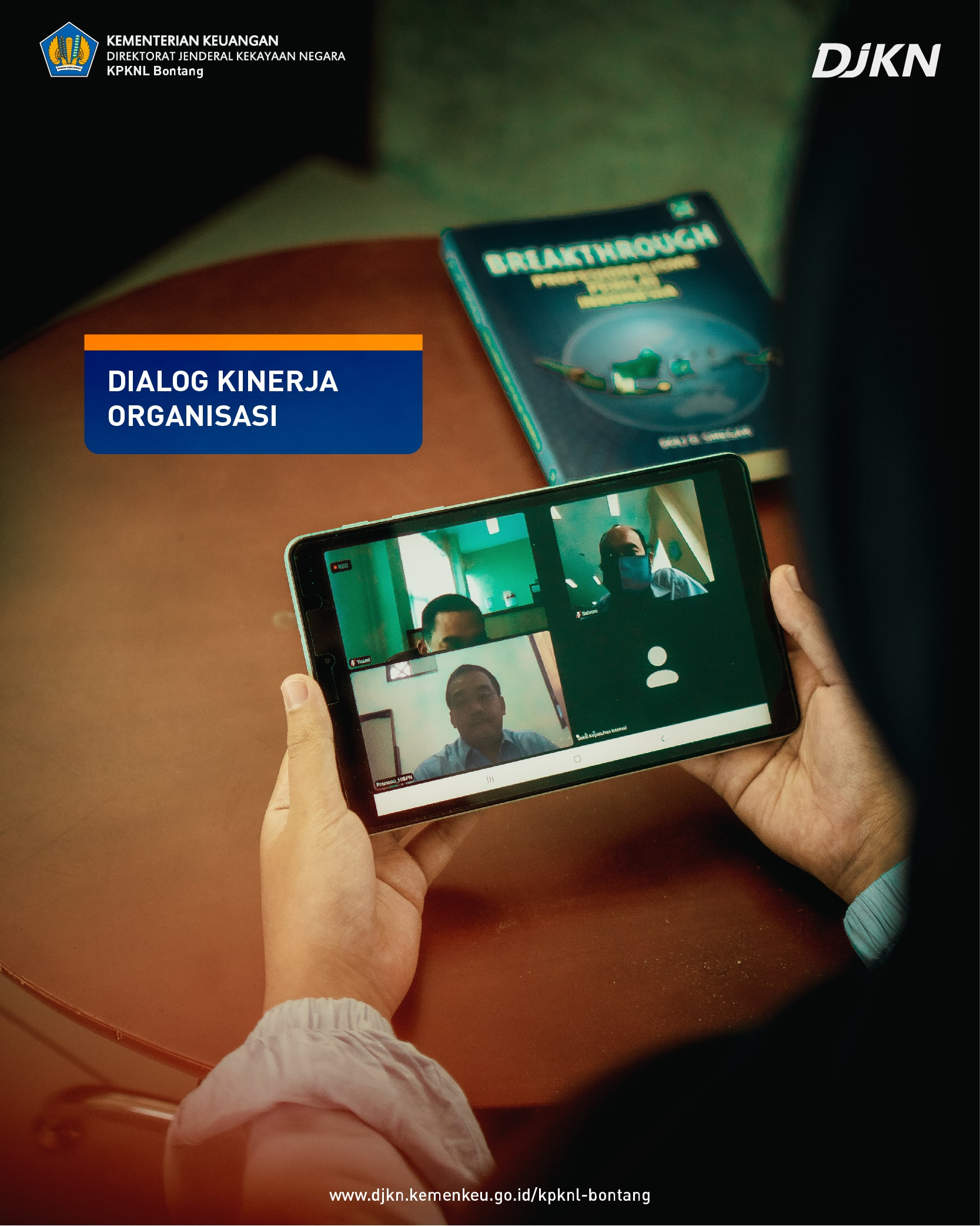 Dialog Kinerja Organisasi (DKO) Triwulan IV 2020 KPKNL Bontang: Terima Kasih 2020, Selamat Datang 2021