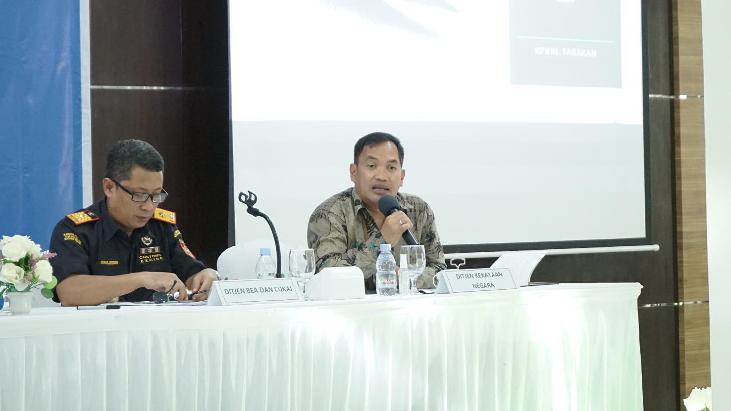 KPKNL Tarakan Melakukan Konferensi Pers APBN