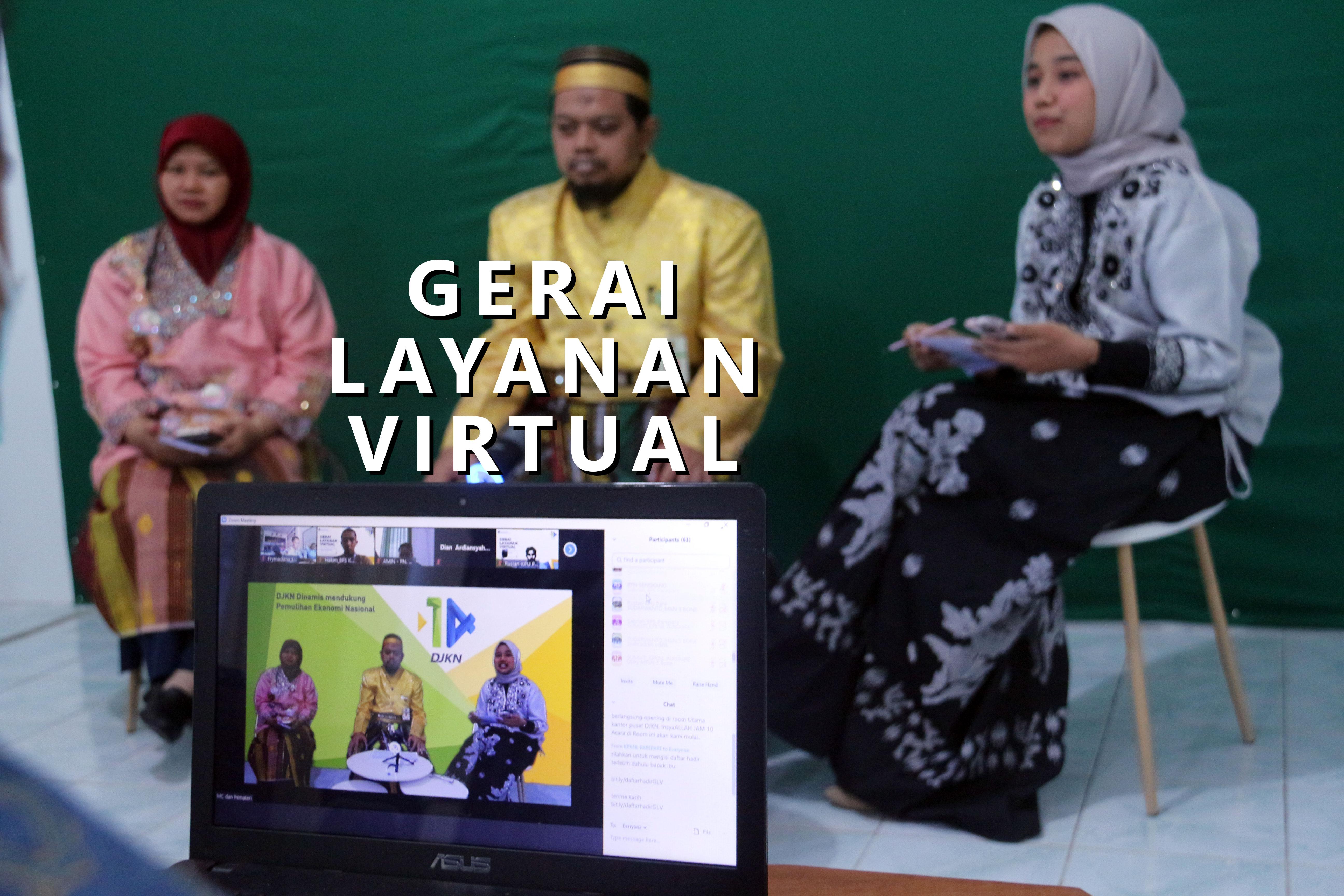 Peringati Hari Ulang Tahun DJKN Ke 14, KPKNL Parepare Selenggarakan Gerai Layanan Virtual
