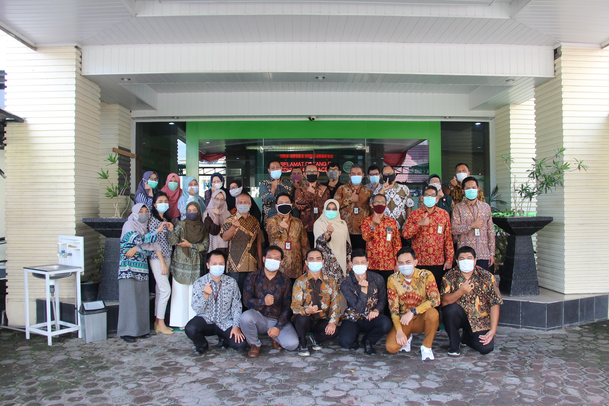 Kakanwil DJKN Aceh Sampaikan Inspirasi Pagi Dalam Menyongsong Tahun 2021