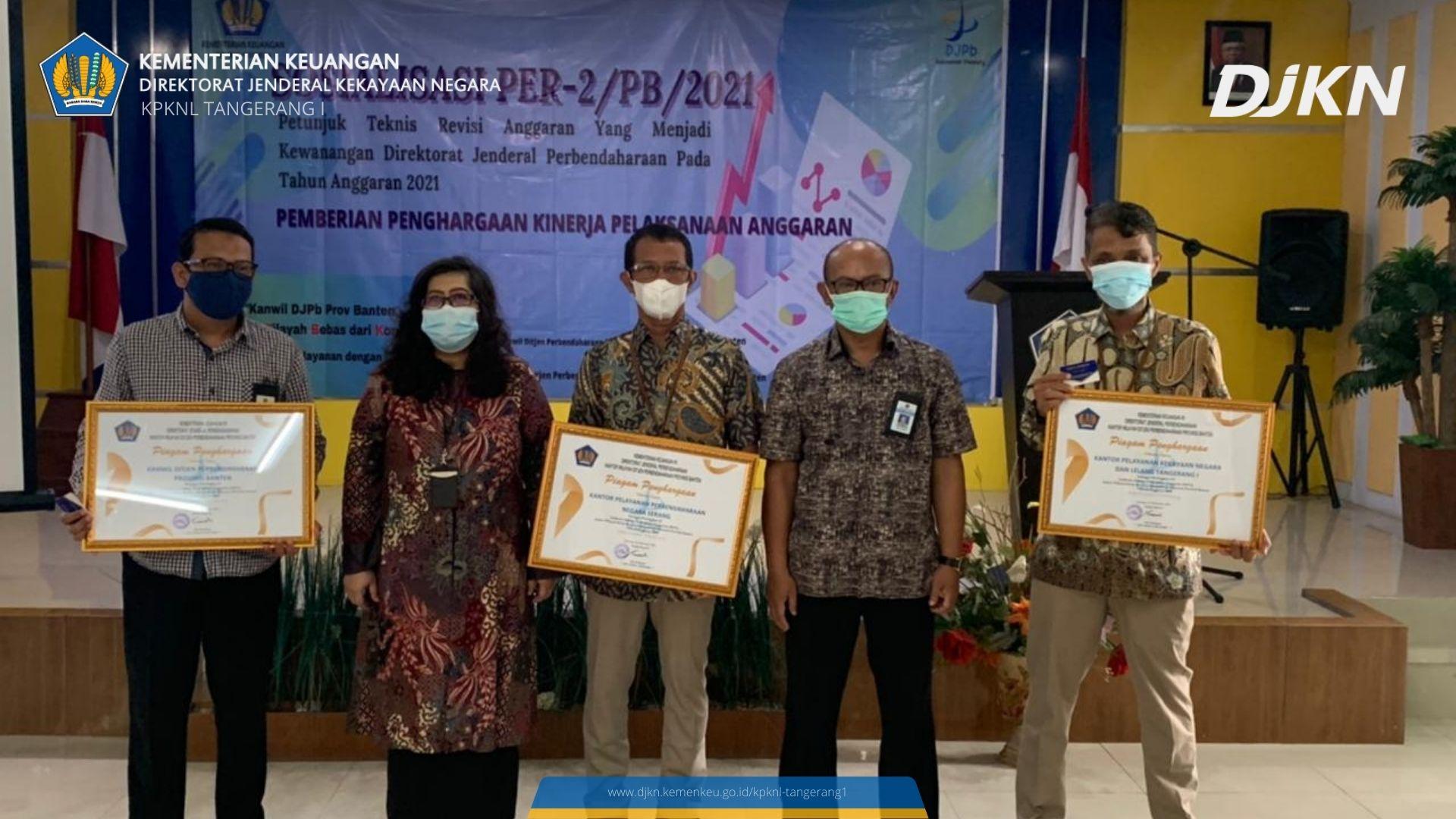 KPKNL Tangerang I Berikan Nilai Sempurna Dalam IKPA 2020