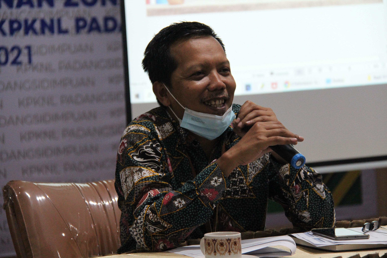 Sosialisasi dan Monitoring Pelaksanaan Pembangunan ZI-WBK di Lingkungan KPKNL Padangsidimpuan