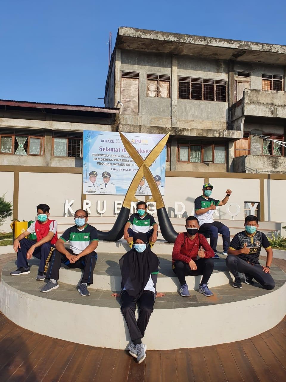 Taman Krueng Daroy Contoh Sukses Pengelolaan Bantaran Sungai Di Banda Aceh