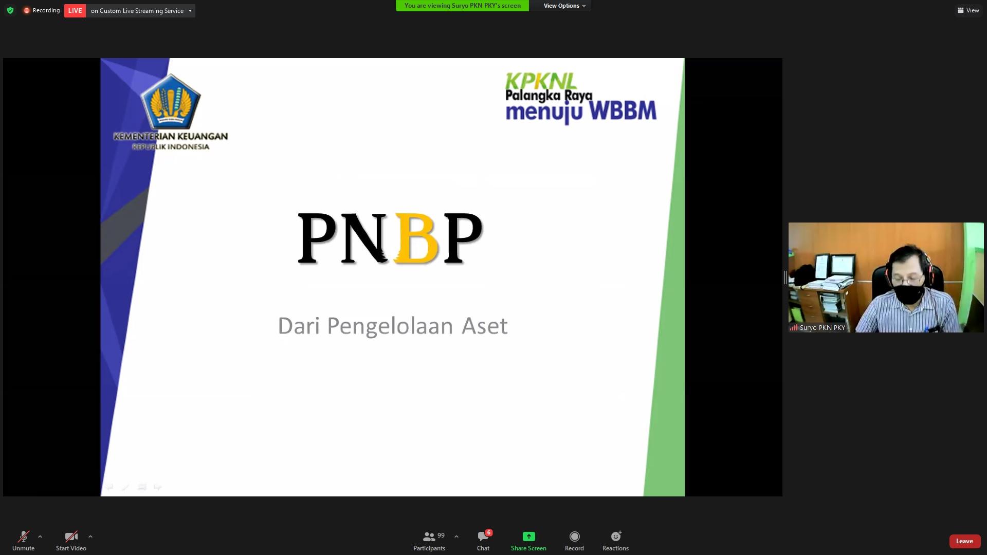Pemanfaatan BMN dalam Rangka Menggali Potensi PNBP