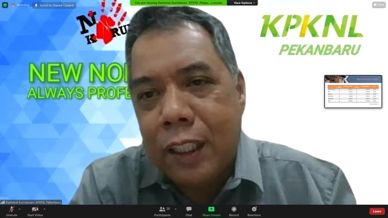 KPKNL Pekanbaru Giatkan Koordinasi dengan Mitra Lelang