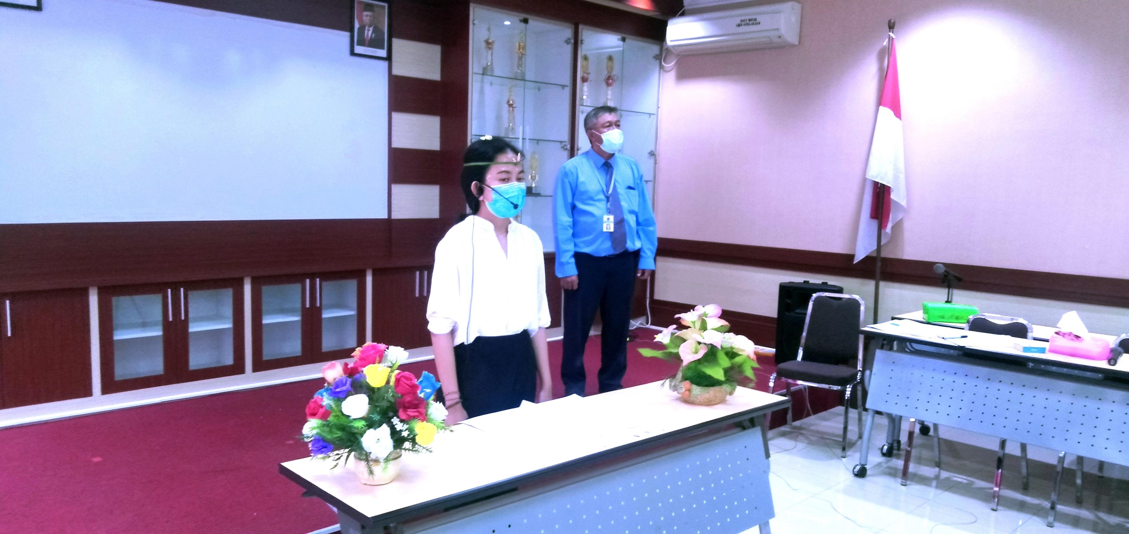 Pelantikan dan Pengambilan Sumpah PNS KPKNL Singaraja Secara Virtual