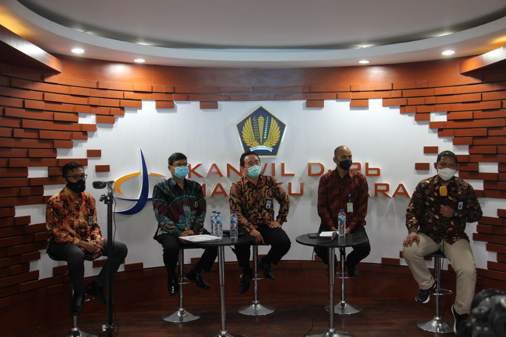 Konferensi Pers Torang Pe APBN: Pulih dan Bangkitkan Ekonomi Maluku Utara secara Extraordinary