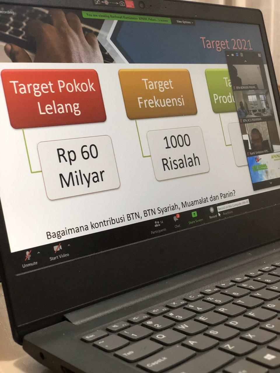 KPKNL Pekanbaru Targetkan Lelang Capai 60 Miliar Rupiah