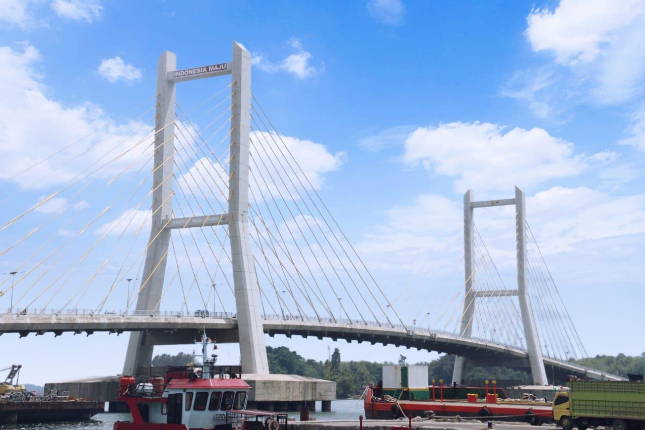 Jembatan Teluk Kendari Sokong Perekonomian di Bumi Anoa