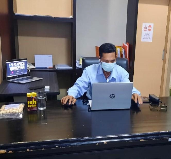 Pelelang Ahli Pertama KPKNL Palopo Ikuti Online Assessment Center Kenaikan Jenjang Jabatan Fungsional