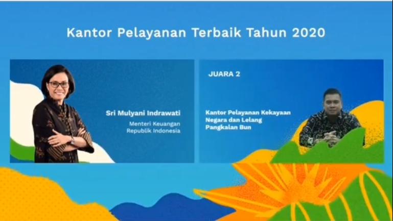 Kilas Balik KPKNL Pangkalan Bun Raih 2 Penghargaan Bergengsi di Tahun 2020