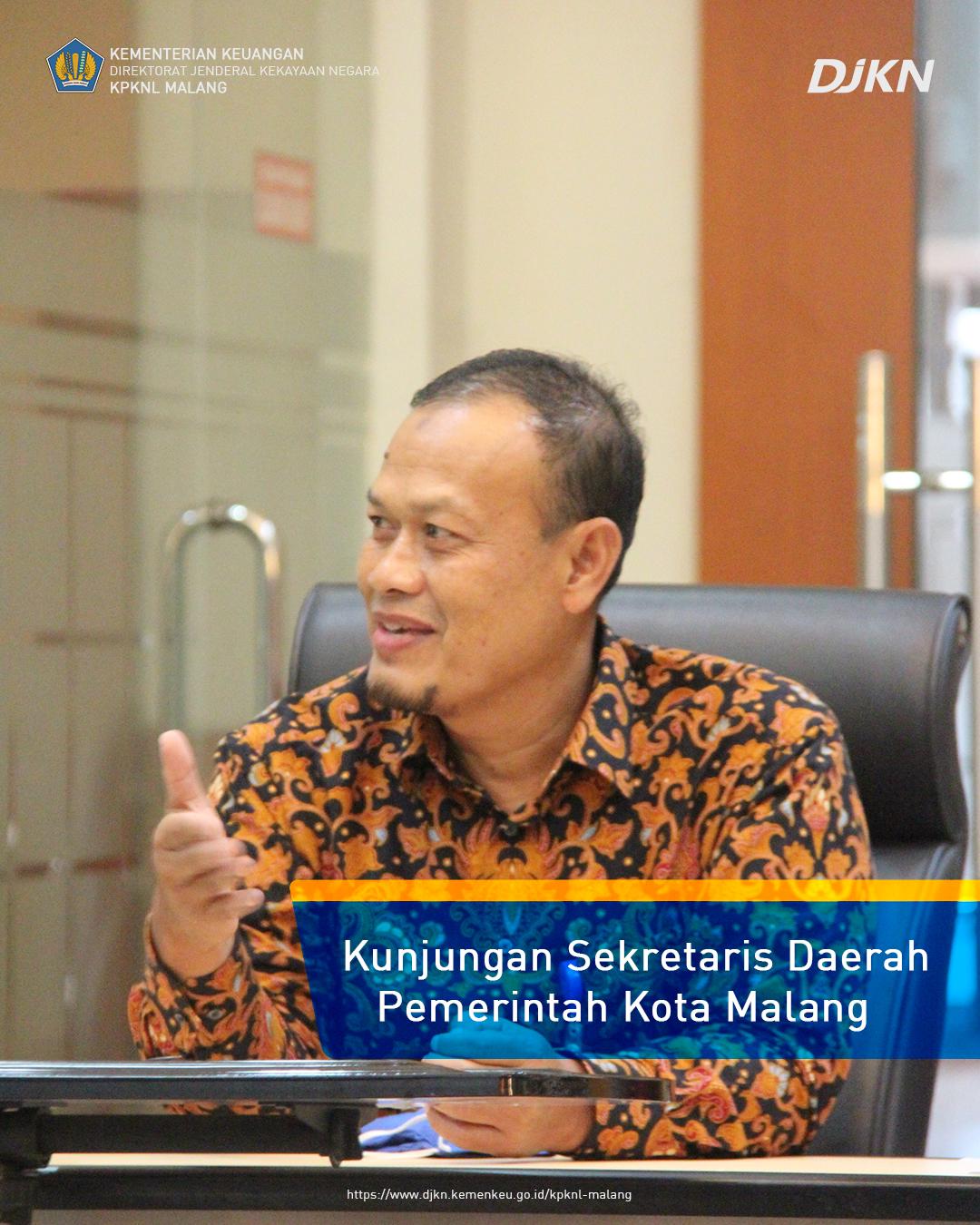 Pemerintah Kota Malang Sinergi dengan KPKNL Malang Dalam Rangka Pengelolaan BMD