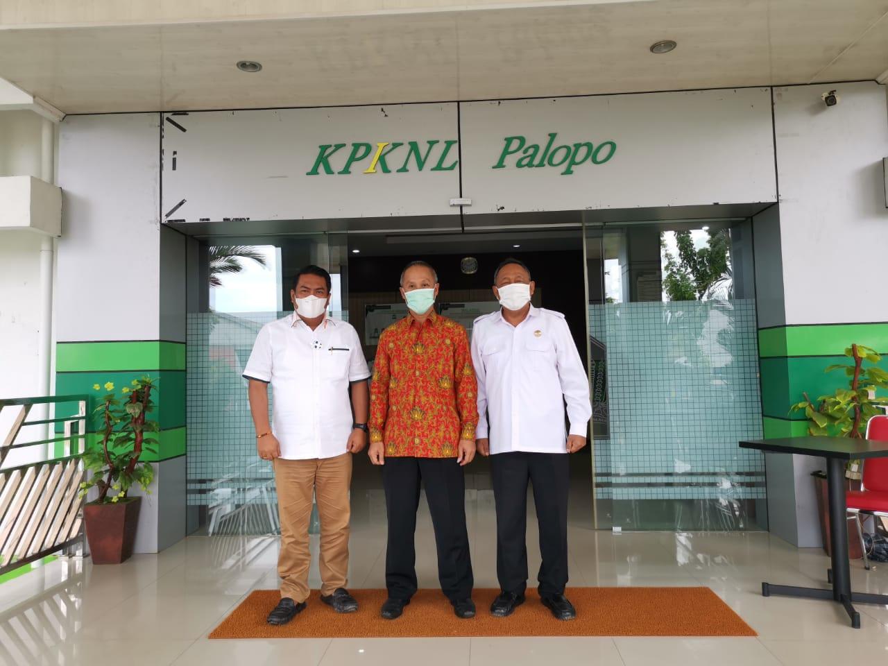 KPKNL Palopo Menerima Kunjungan Bupati, Wakil Bupati dan Kepala BPKAD Kabupaten Toraja Utara