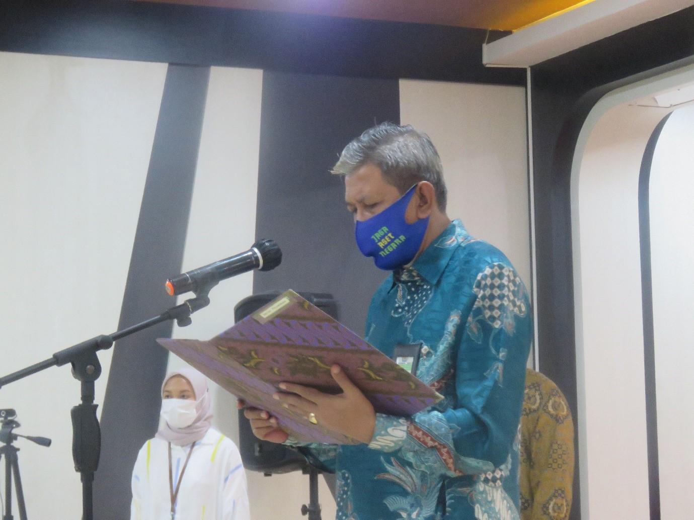 Lantik Pejabat Pengawas, Kepala Kanwil DJKN Sulseltrabar Ingatkan Leadership dan Integritas