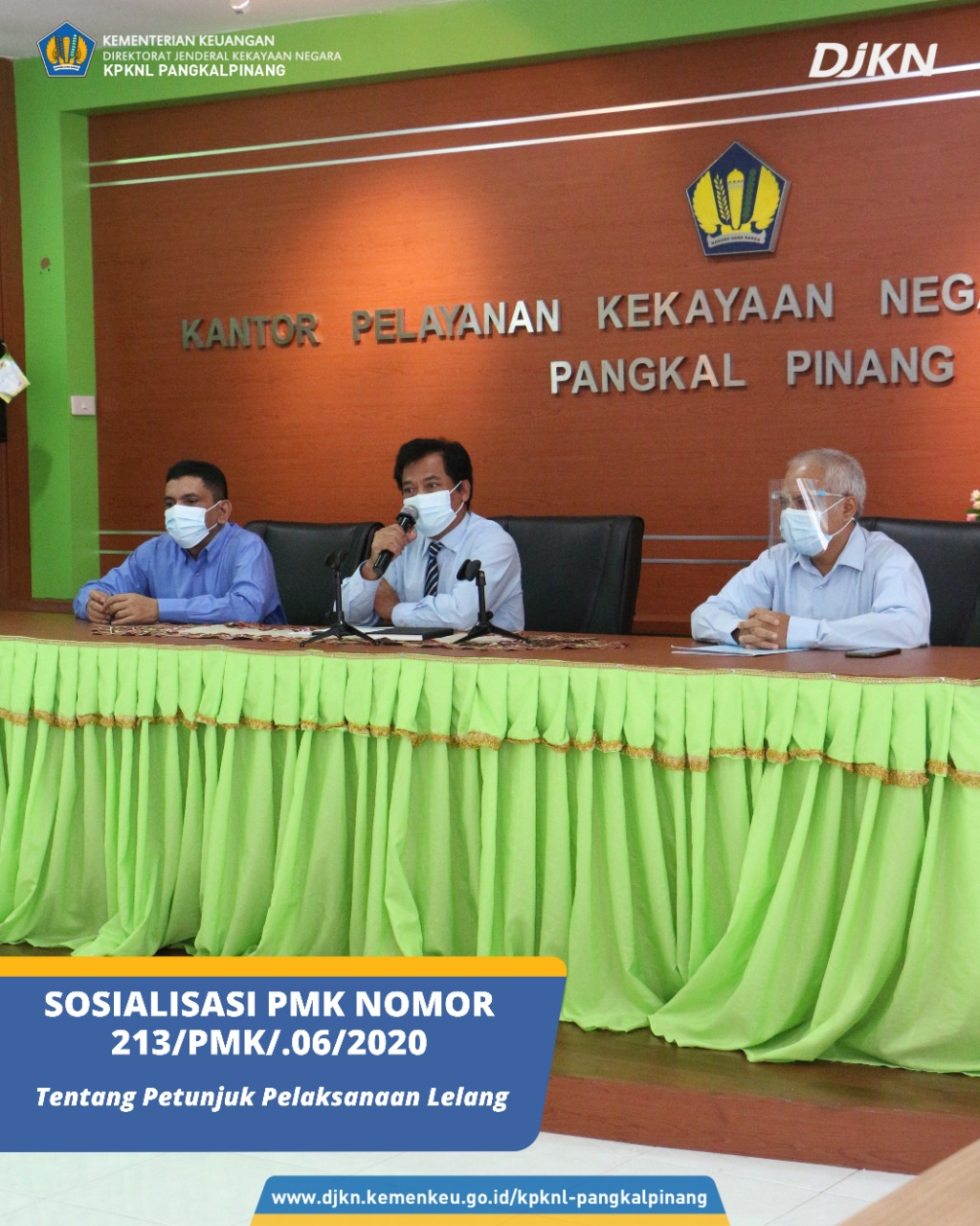 Sosialisasi PMK Nomor 213/PMK.06/2020 Sebagai Upaya Kesuksesan Lelang Eksekusi Hak Tanggungan