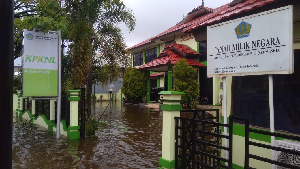 KPKNL Banjarmasin Bantu Pegawai Terdampak Banjir