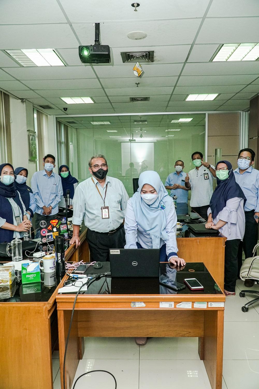 Pengunggahan Lembar Kerja Penilaian Wilayah Bebas Korupsi (WBK), KPKNL Jakarta II Selangkah Lebih Dekat Menuju Kantor Berpredikat WBK.