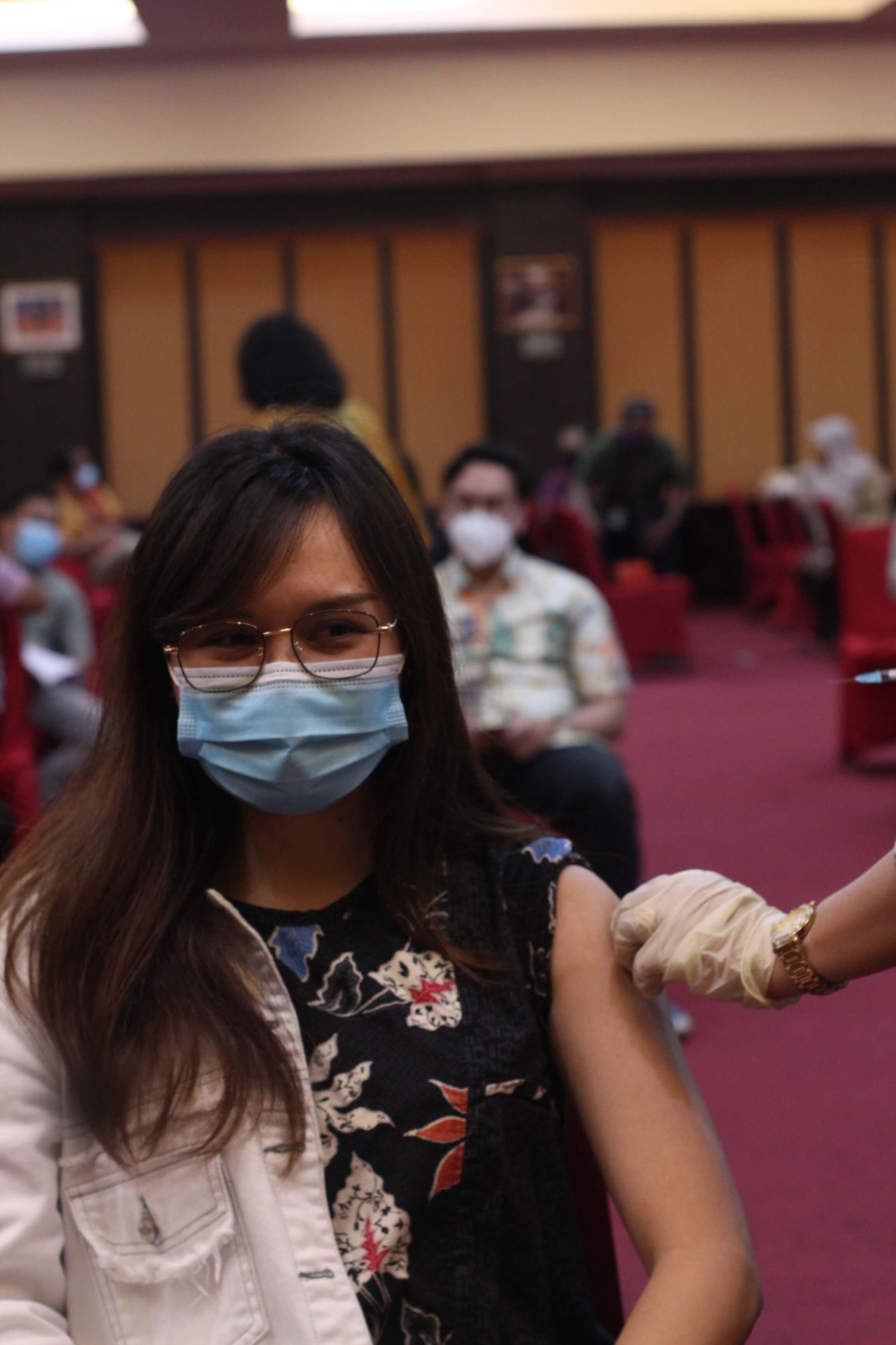 Vaksinasi Covid-19, Sinergi KPKNL Manado dan Kanwil DJKN Suluttenggomalut dengan GKN Manado