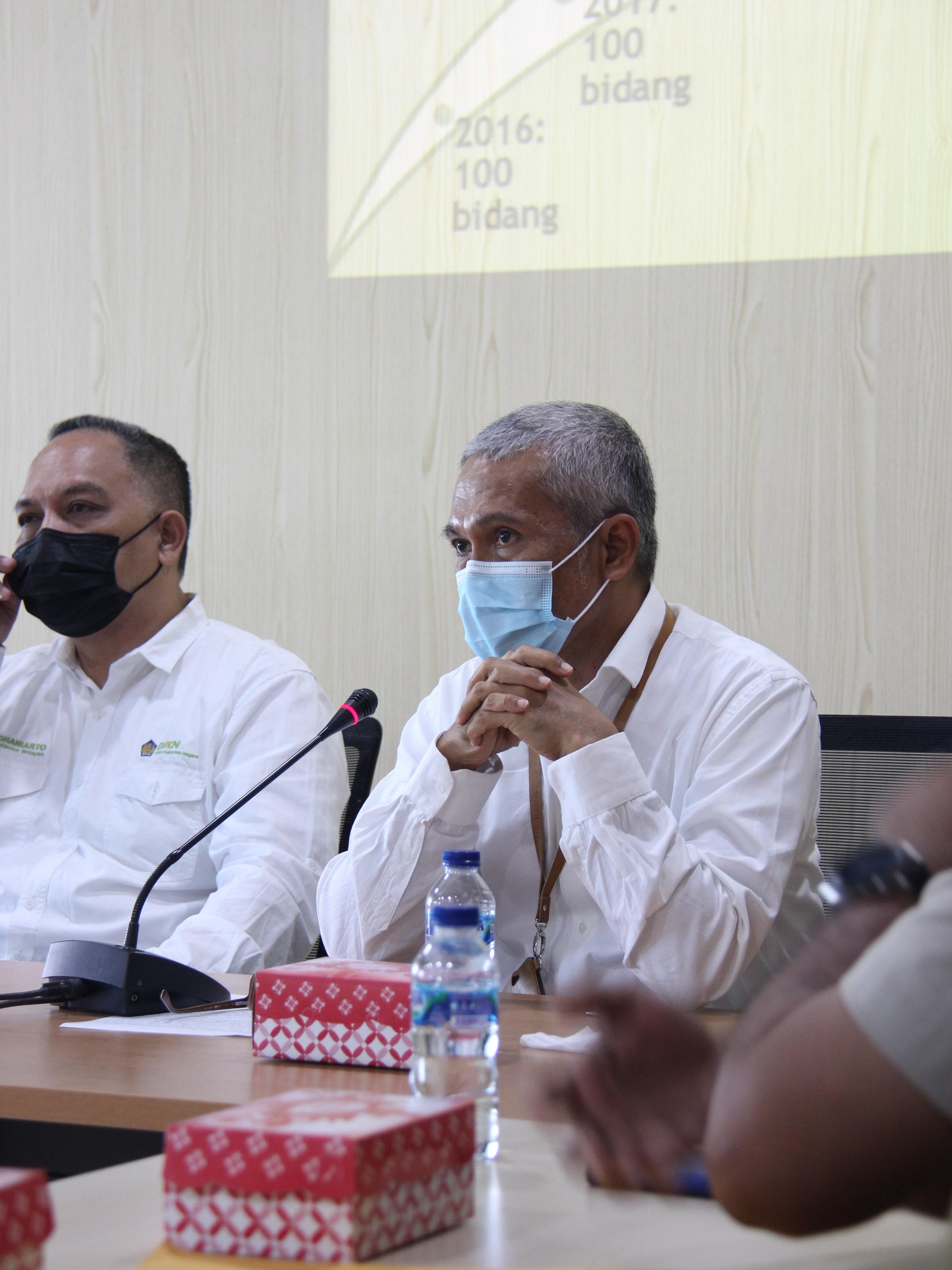 Kebut Target Sertipikasi 1638 Bidang Tanah, KPKNL Palu Gelar Rapat Percepatan Sertifikasi BMN Tahun 2021