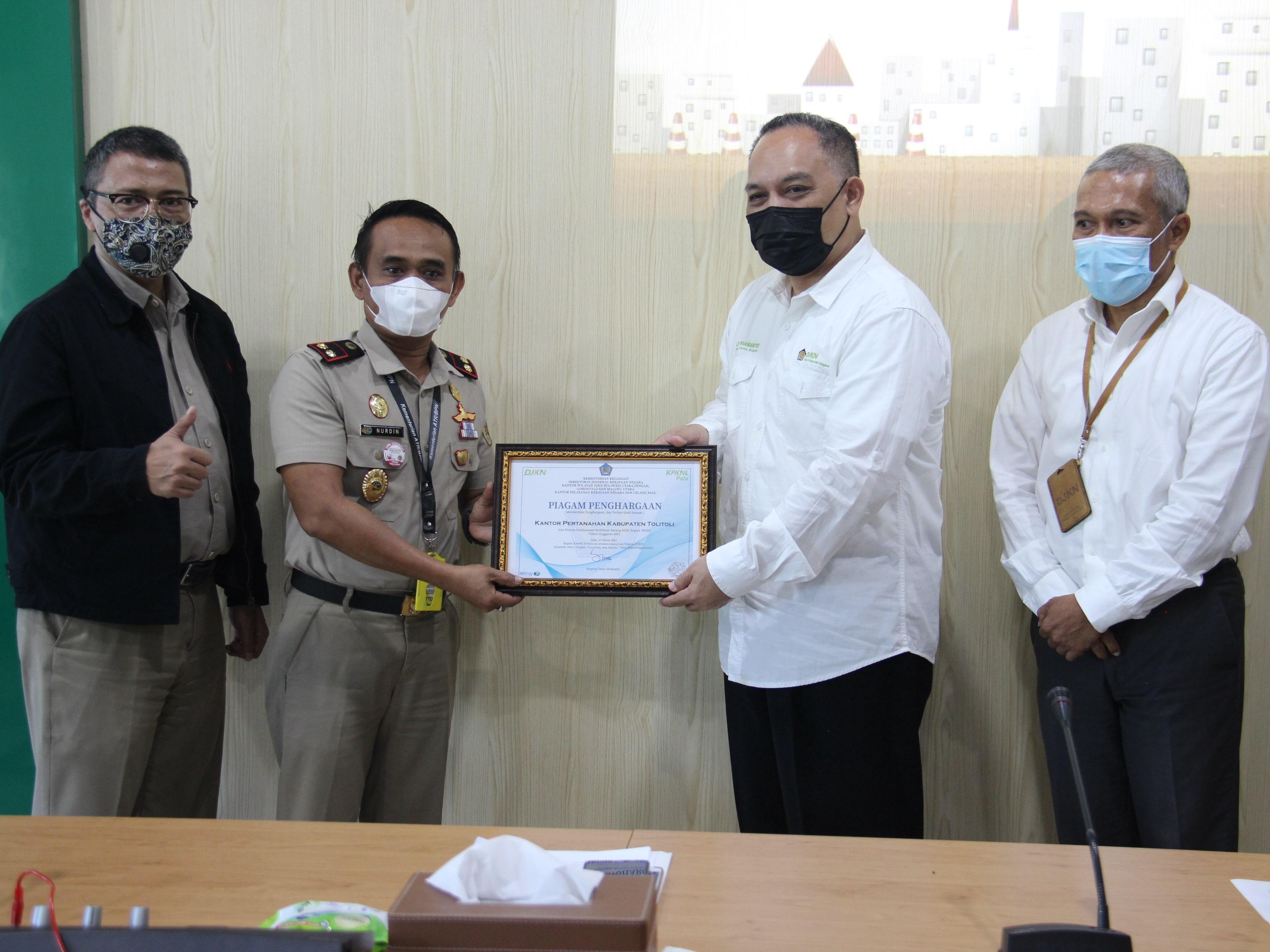 BPN Sulawesi Tengah Siap Capai Target Pensertipikatan 1.638 Bidang Tanah BMN