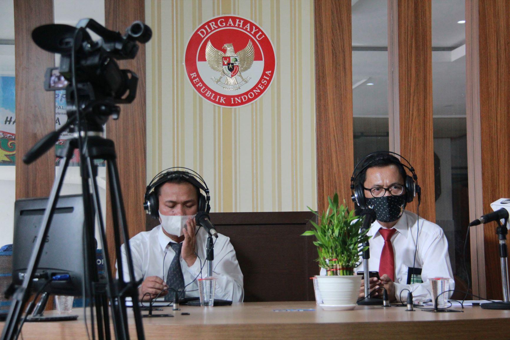 Siap Jadi Kantor Berpredikat ZI WBBM, KPKNL Palangkaraya Adakan Dialog Interaktif Bersama RRI