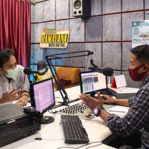 KPKNL Metro Berikan Pencerahan Penyelesaian Piutang Negara melalui Radio Ramayana FM