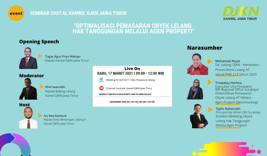 One Stop Info Seminar Digital Kanwil DJKN Jatim