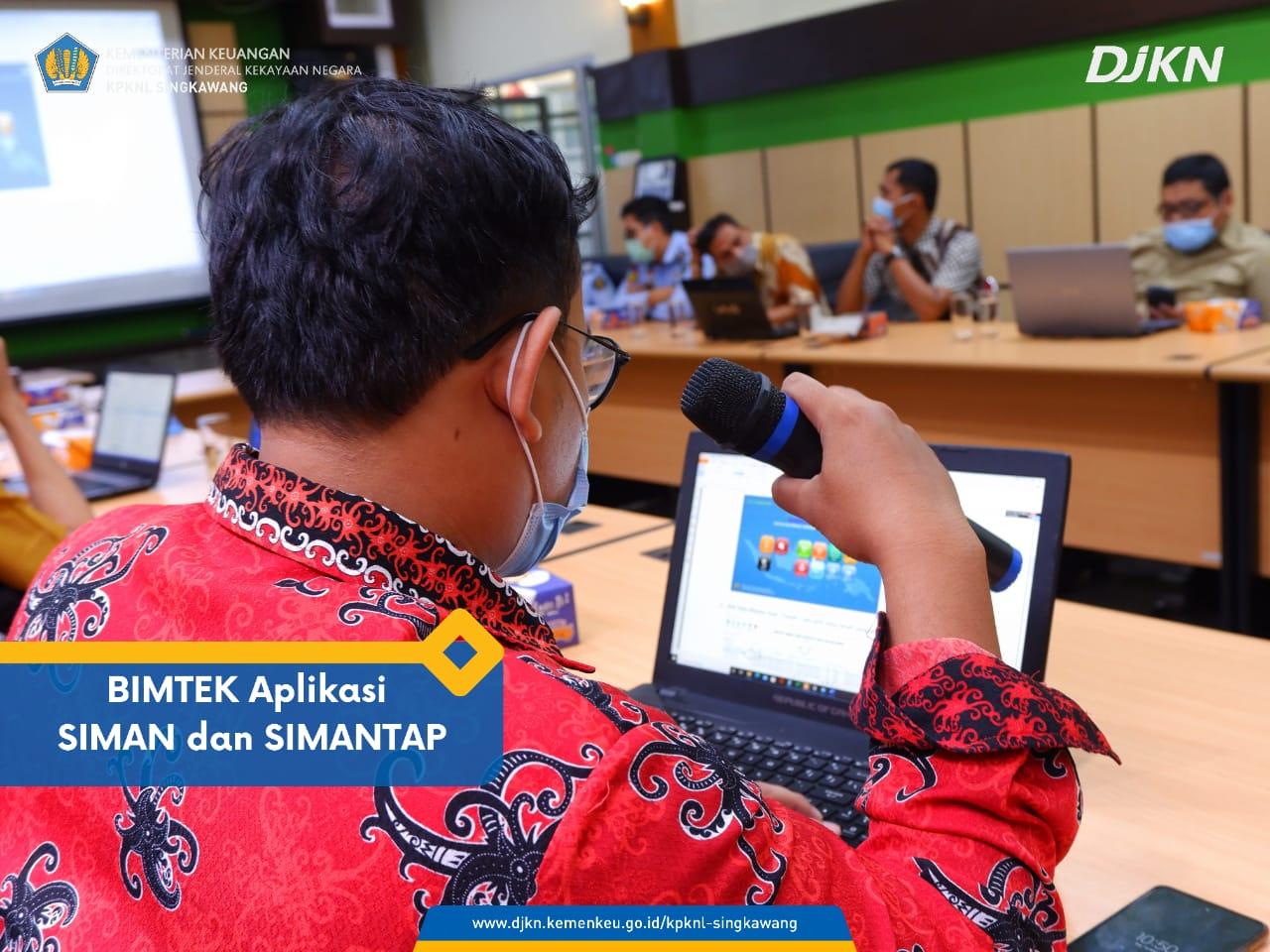 Bimbingan Teknis Aplikasi SIMAN dan SIMANTAP untuk Updating Data Tanah pada Master Aset