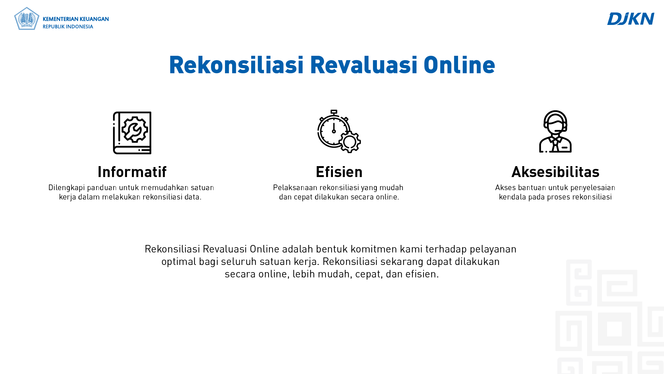 Rekonsiliasi Revaluasi Online