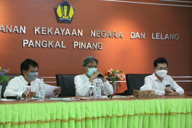 Pembinaan Kepada Pegawai KPKNL Pangkalpinang Mengawali Kunjungan Perdana Kepala Kanwil DJKN SJB di Negeri Serumpun Sebalai