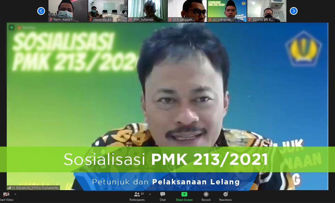 PMK 213/2020 Cermin Lelang Yang Akuntabel dan Reseptif Teknologi
