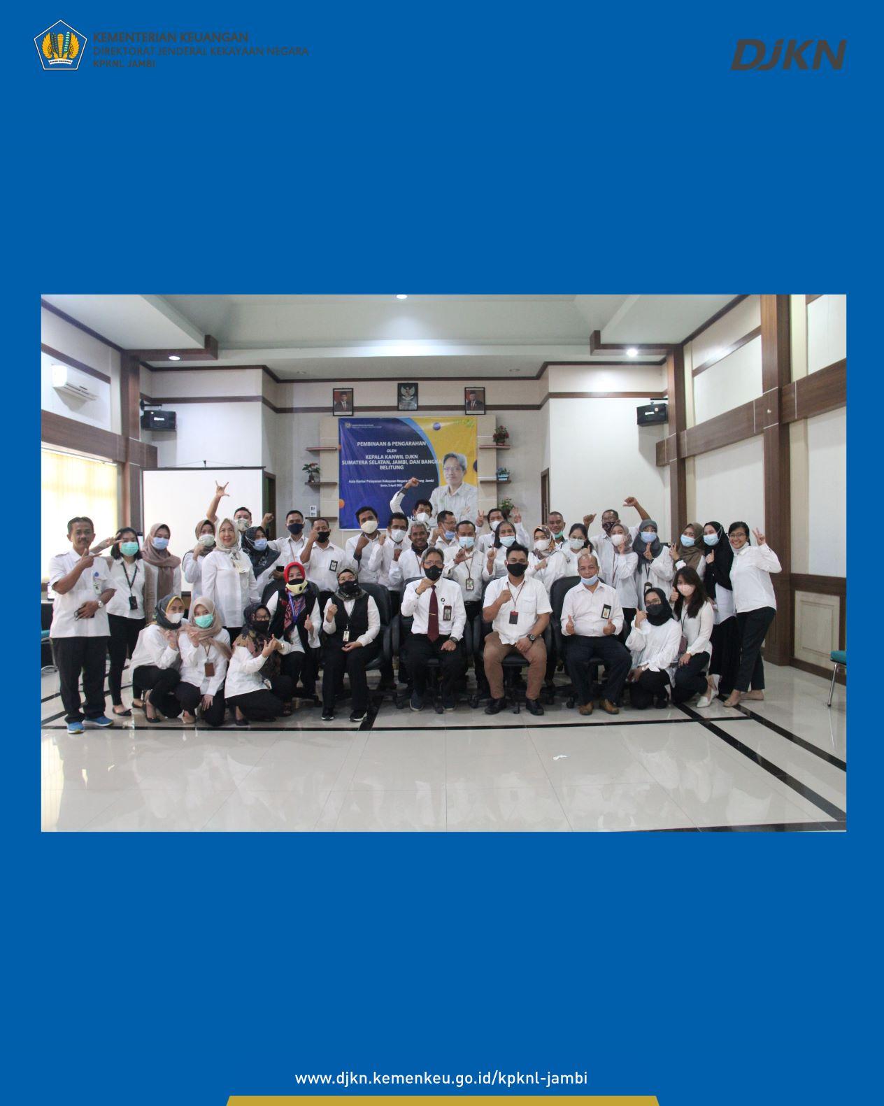 Kunjungan Kepala Kanwil DJKN Sumatera Selatan, Jambi dan Bangka Belitung