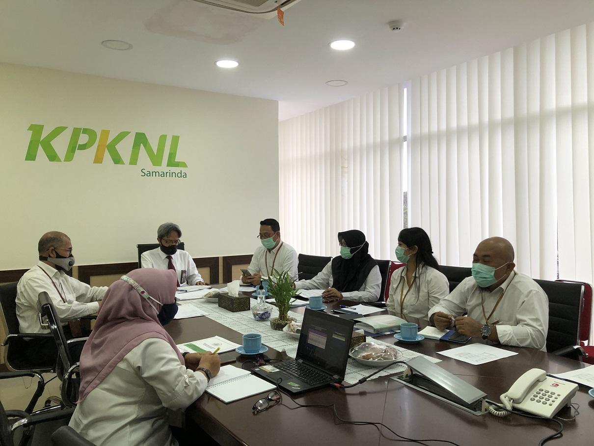 KPKNL Samarinda Menerima Pembinaan dari Tim Kanwil DJKN Kaltimtara