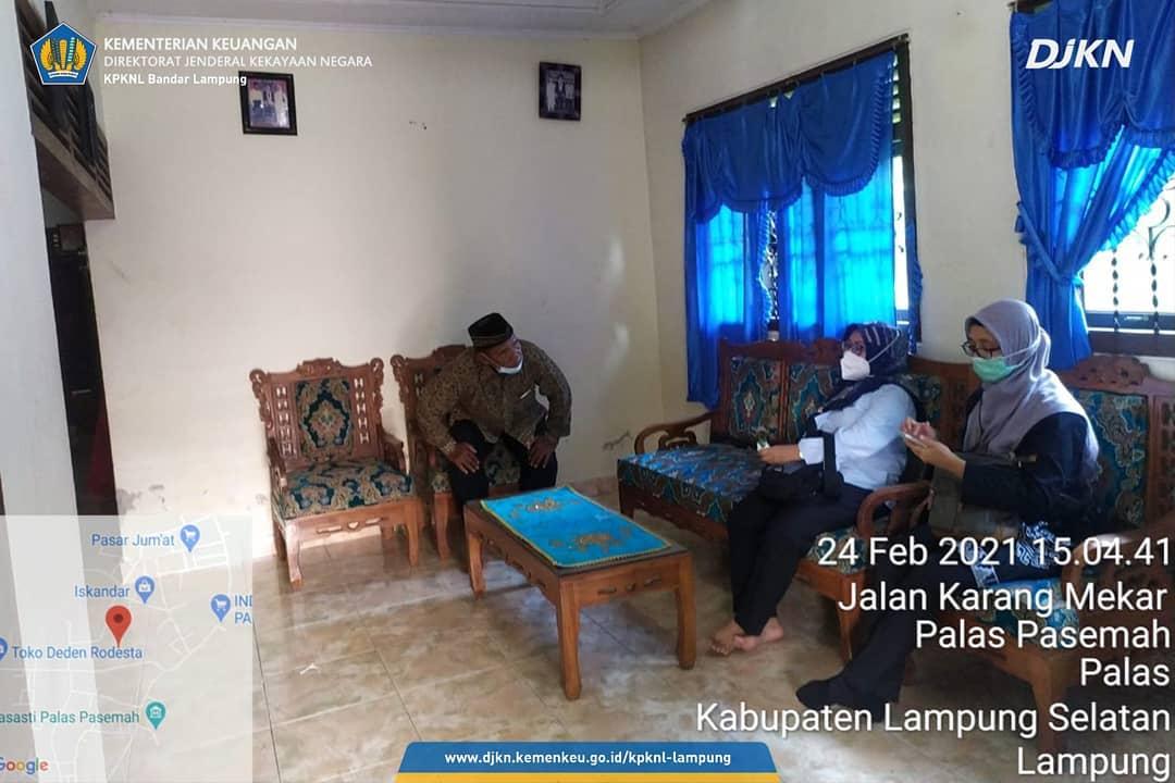 Kunjungi Debitur, KPKNL Bandar Lampung Lakukan Kick-off Program Keringanan Utang