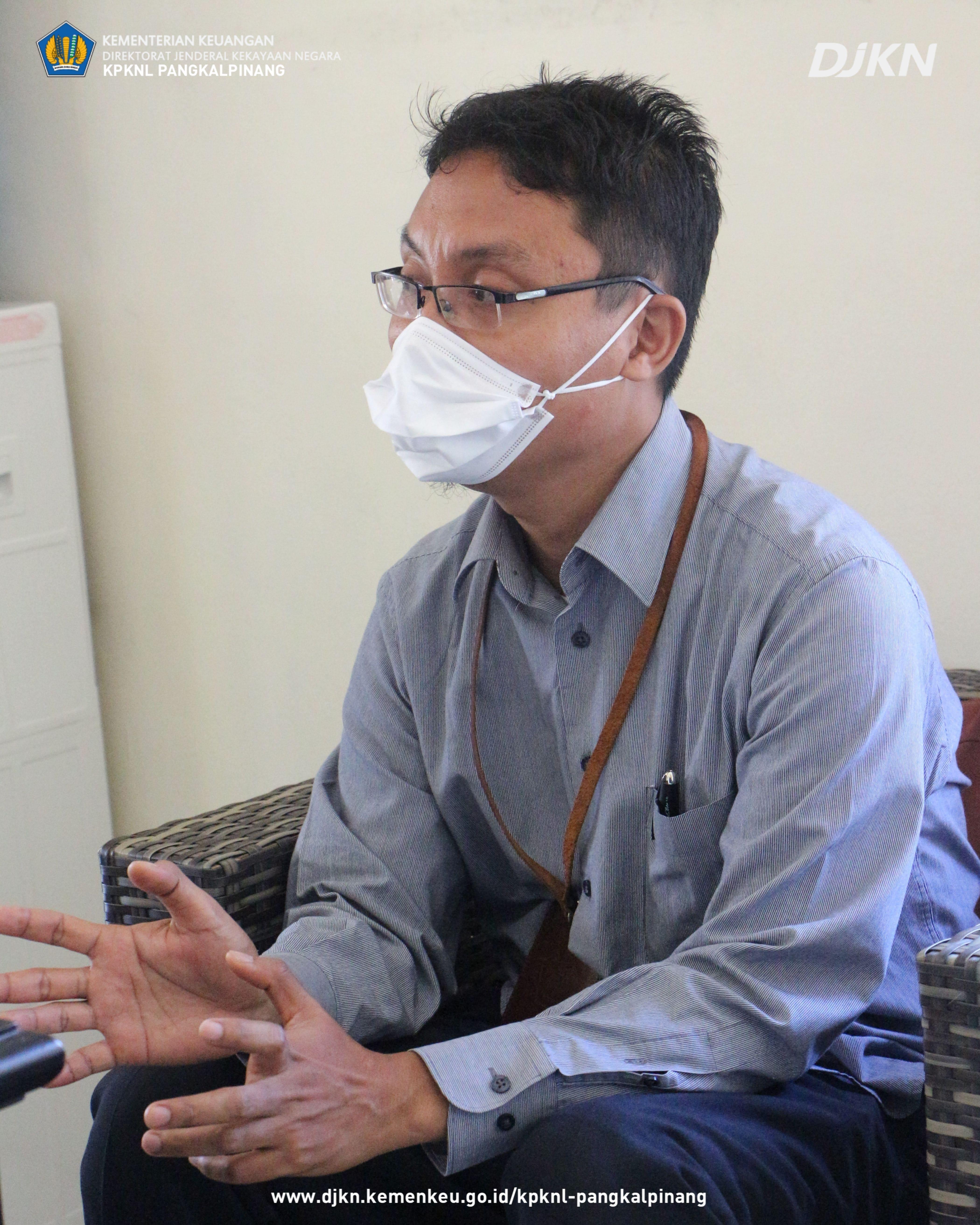 Guna Optimalkan Penggunaan BMN, KPKNL Pangkalpinang Lakukan Survey SBSK BMN Pada KPU Provinsi Kepulauan Bangka Belitung