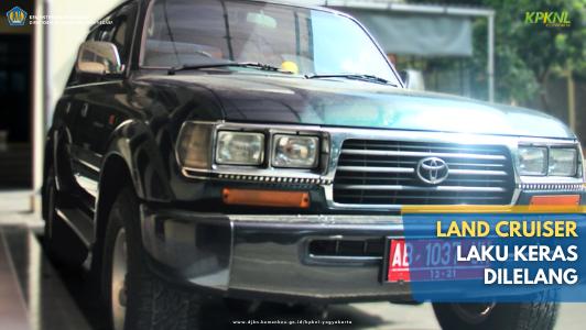 Toyota Land Cruiser Laku Keras Dilelang Pelelang KPKNL Yogyakarta