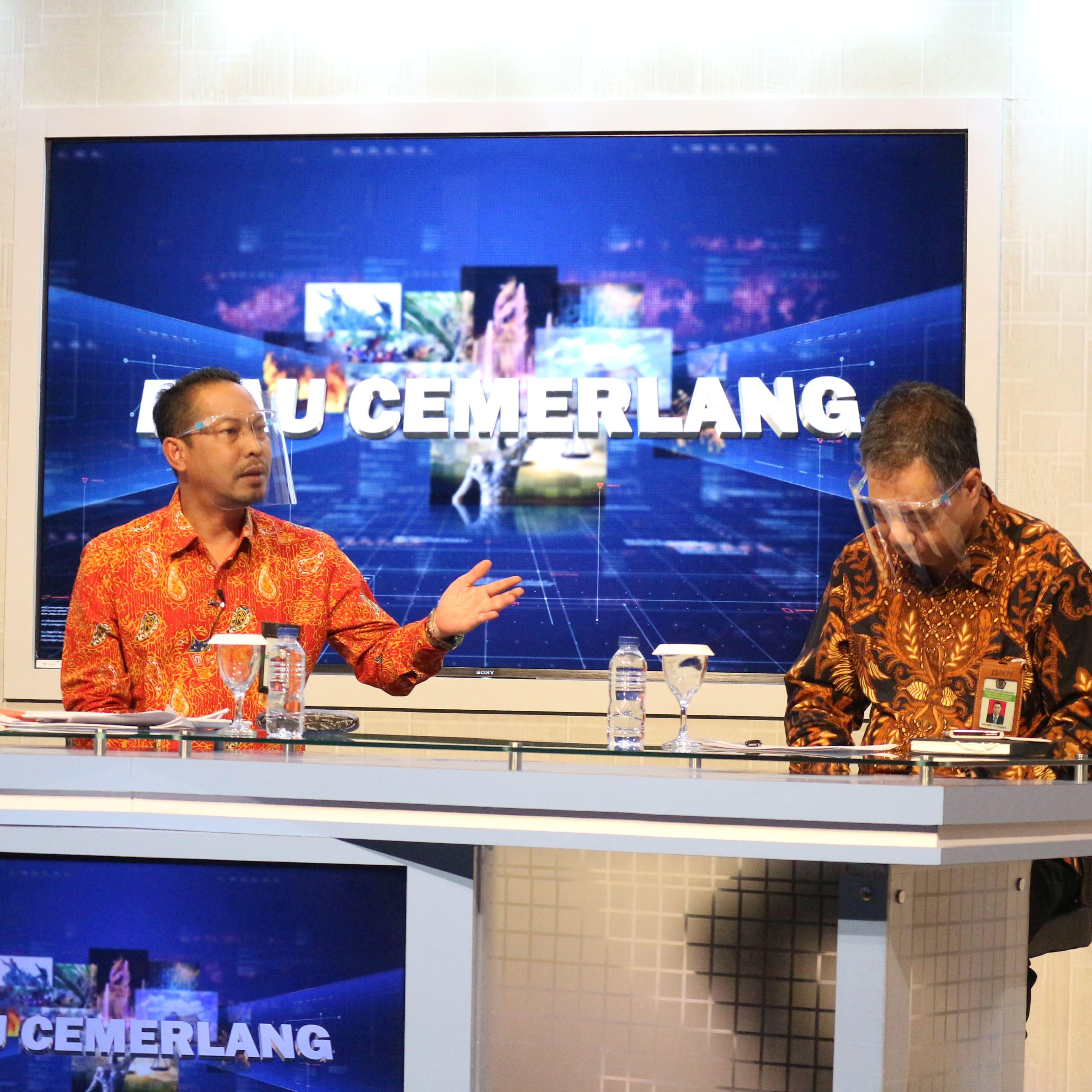 Lewat Siaran Langsung TVRI Riau, KPKNL Pekanbaru dan Kanwil DJKN RSK Seru Debitur Manfaatkan Program Keringanan Utang
