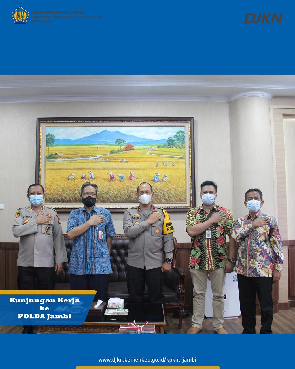 Kunjungan Kerja Kepala Kanwil DJKN Sumatera Selatan, Jambi dan Bangka Belitung