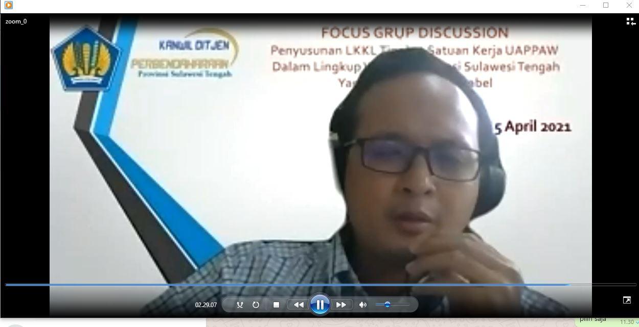 KPKNL Palu : Pengelolaan BMN yang Tertib, Menjadi Faktor Penyusunan Laporan Keuangan yang Akuntabel