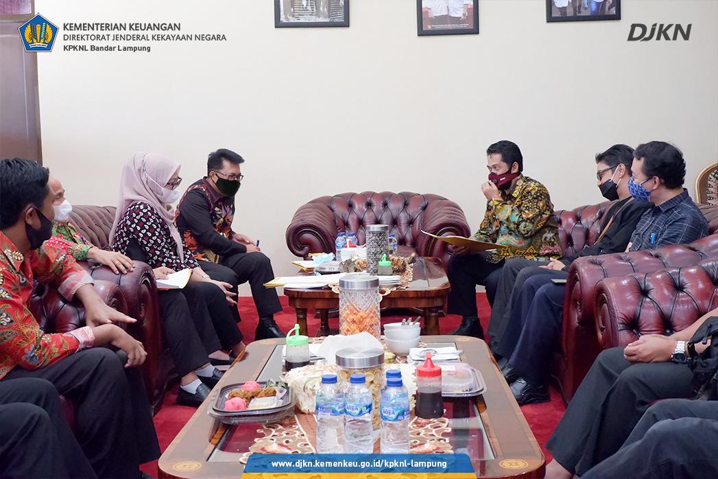 Optimalkan Aset Daerah, Pemkab Lamsel Gandeng Kanwil DJKN Lamkulu dan KPKNL Bandar Lampung