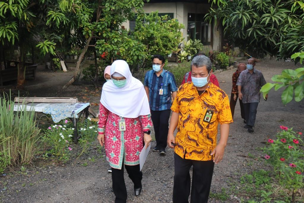 Kepala Kanwil Direktorat Jenderal Pajak Sumbar dan Jambi Bersama Kepala KPKNL Padang Meninjau Lokasi Aset Properti Eks PT. PPA (Persero)