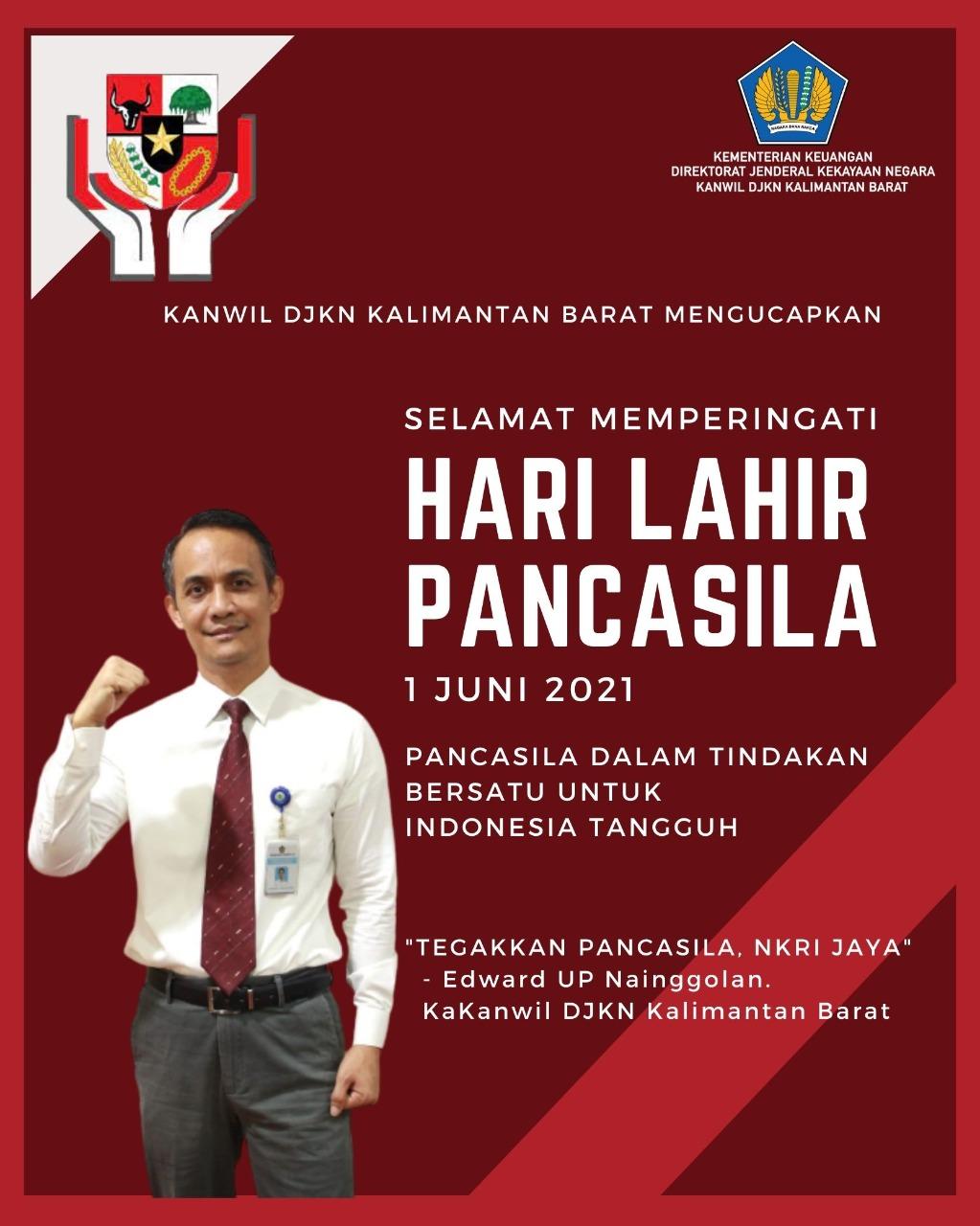 Tegakkan Pancasila, NKRI Jaya
