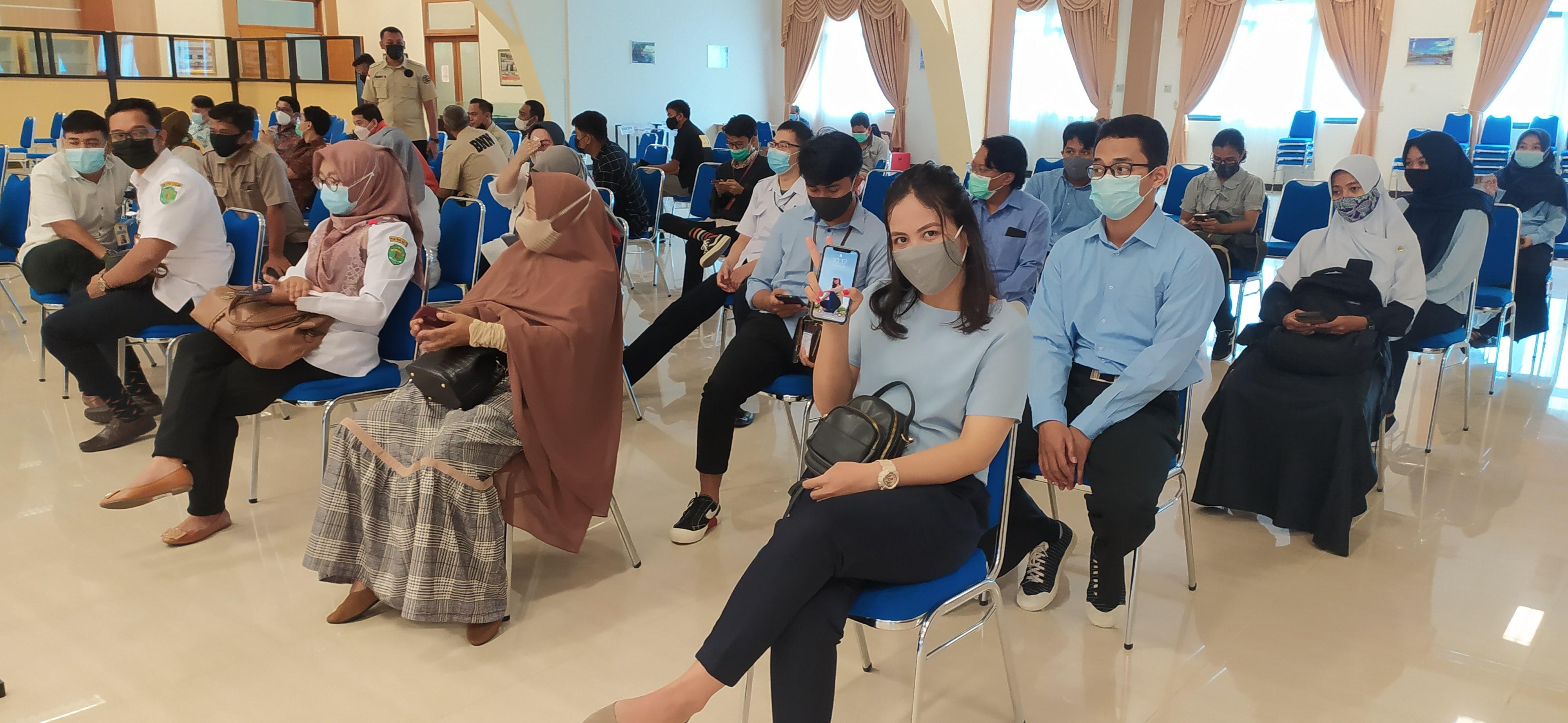 Vaksinasi Covid-19 dosis ke-2 Bagi Pegawai KPKNL Bontang