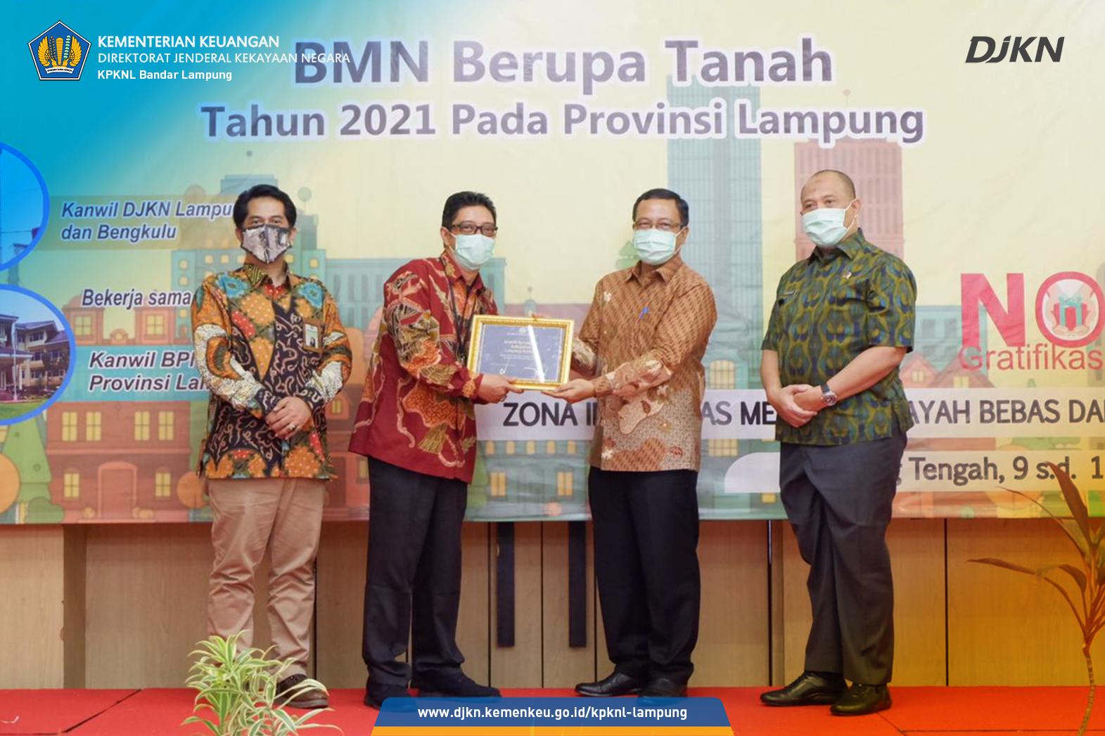 KPKNL Bandar Lampung Berhasil Sertipikatkan 1.299 Bidang Tanah Negara