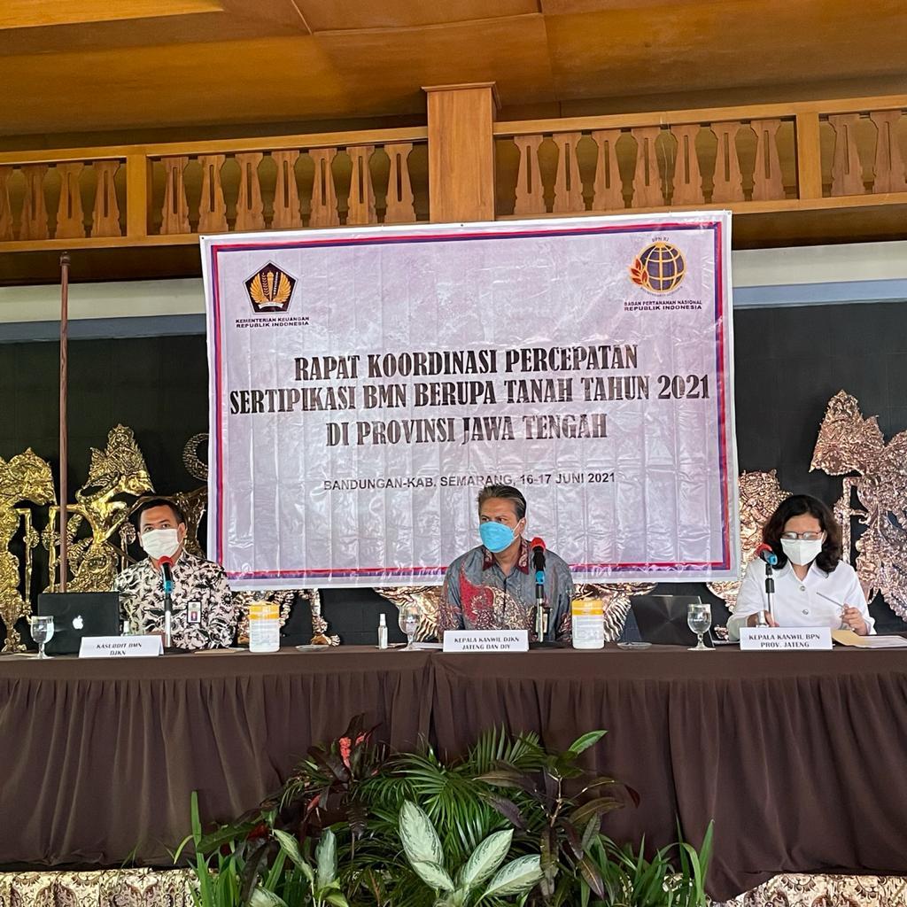 Target Naik 724%, Kanwil DJKN Jateng dan D.I.Y. Optimis Tuntaskan Sertipikasi BMN 2021