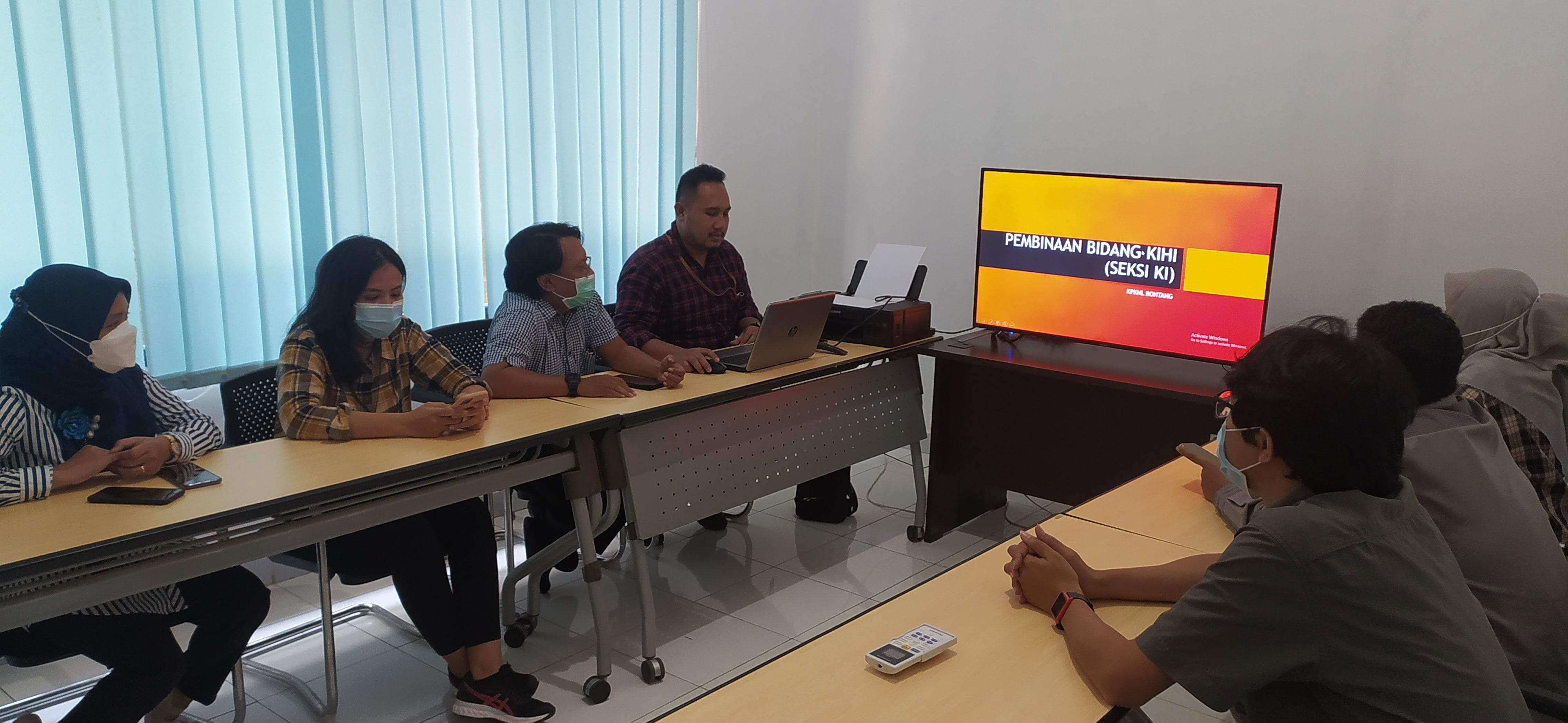 Pembinaan Kanwil DJKN Kaltimtara Ke KPKNL Bontang