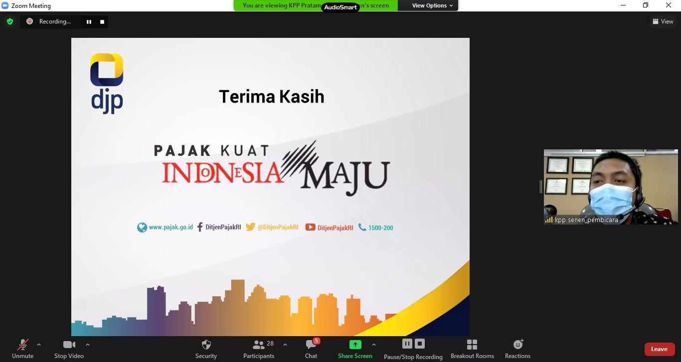 Sosialisasi Kewajiban Perpajakan untuk Bendahara di Lingkungan Kanwil DJKN DKI Jakarta