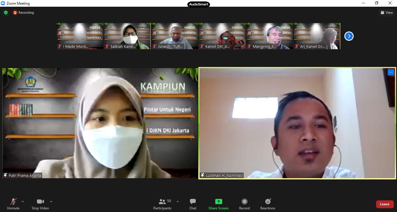 Pemilihan Pegawai Teladan Tahun 2021 Kantor Wilayah DJKN DKI Jakarta