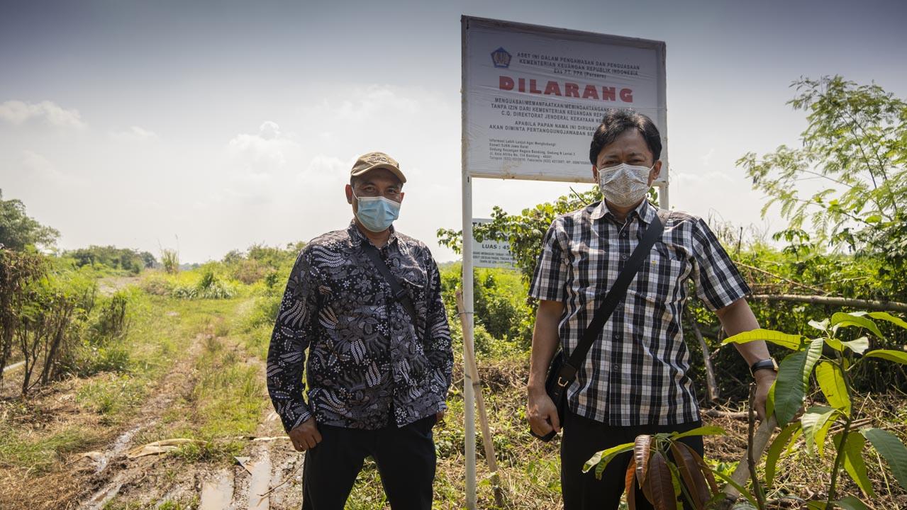 Dialog Terbuka Dengan Warga, Kepala KPKNL Purwakarta Gali Potensi PNBP Aset Eks PT PPA di Karawang
